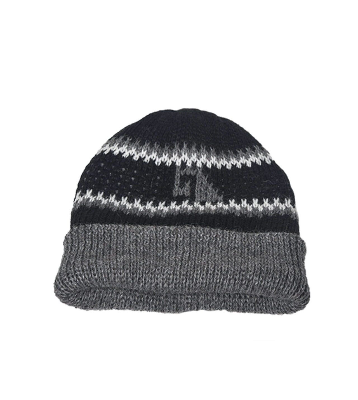 Black Baby Alpaca Inka Hat